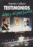 Tapa del libro Testimonios - Antonio Cafiero -