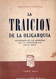 Tapa del libro La traición de la oligarquía - Armando Cascella -