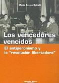 Tapa del libro Los vencedores vencidos - María Estela Spinelli -